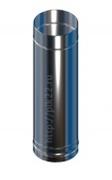 Труба 1м. нерж.0,5 мм. d115/150