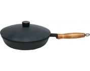 Сковорода 240/50 с деревянной ручкой