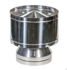 Оголовок-дефлектор d115/200 нерж, нерж 0,5мм/0,5мм/d150