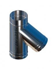 Тройник нерж.0,5 мм. угол 45 d115/150