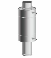 Теплообменник d 115, 8 л. 0,8 мм/ 0,8 мм